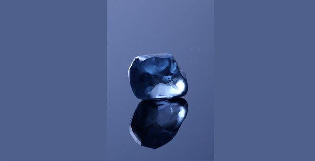 Diamant bleu okavango