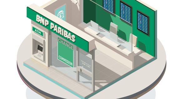 BNP Paribas agence