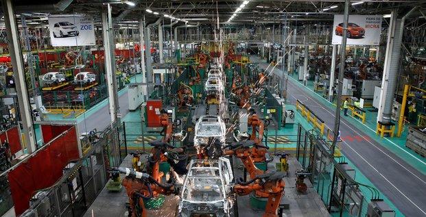 France: la production industrielle en baisse au mois de mars