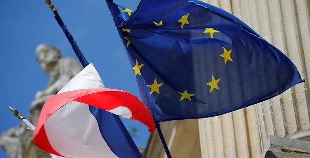 Drapeau européen, Europe
