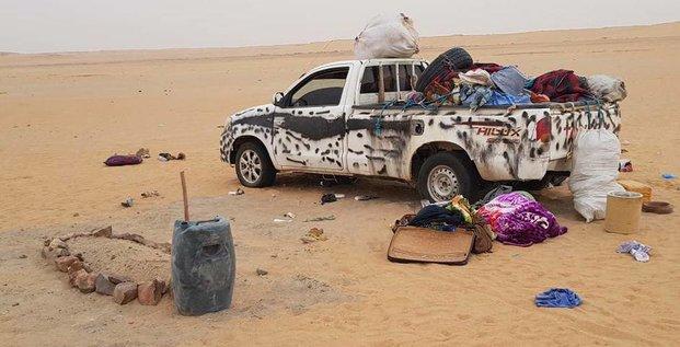 Migrants déserts Niger