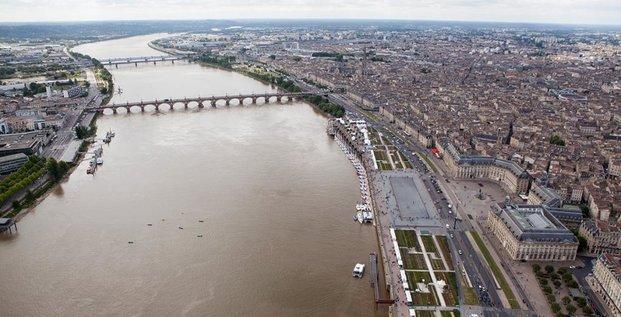 Bordeaux vue aérienne