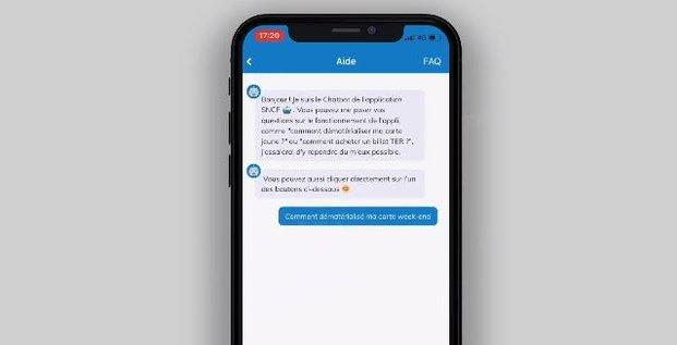 Chatbot SNCF Mindsay
