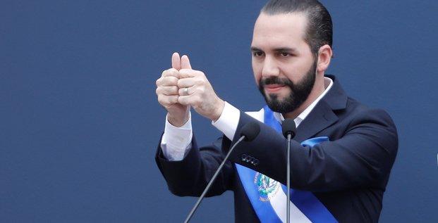 Le salvador, un pays a soigner, dit son nouveau president
