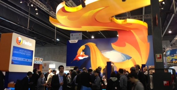Firefox OS stand MWC 2013