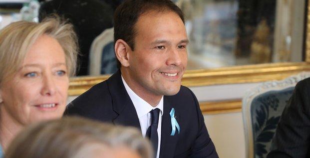 Cédric O, secrétaire d'Etat en charge du numérique