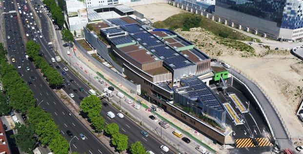 Centre de tri des déchets, Paris