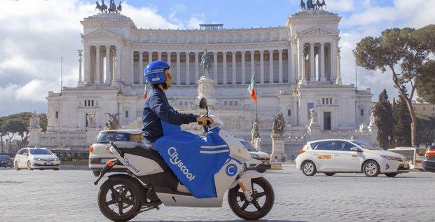 Cityscoot à Rome