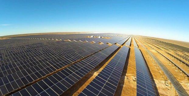 Energie solaire panneaux renouvelable