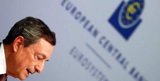 Draghi replique a trump et dit que la bce ne cible pas les changes
