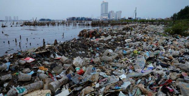 Plastique à Jakarta