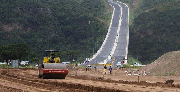 chantier route infrastructure btp travaux construction