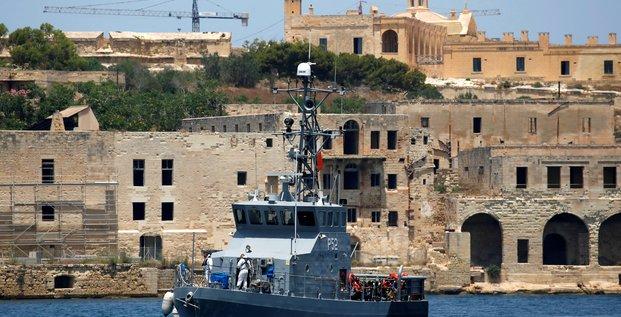 Malte prend en charge 54 migrants sauves par une ong italienne