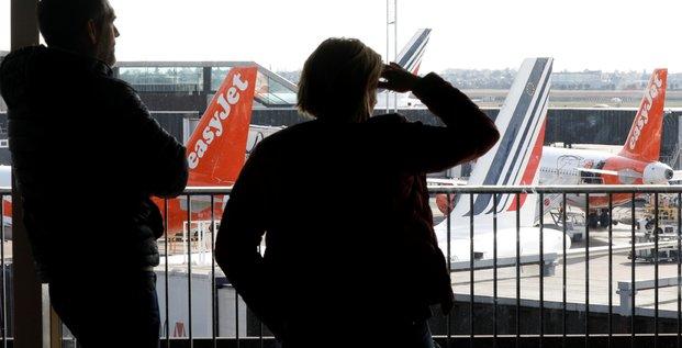 aéroport, Air France, Easyjet, passagers
