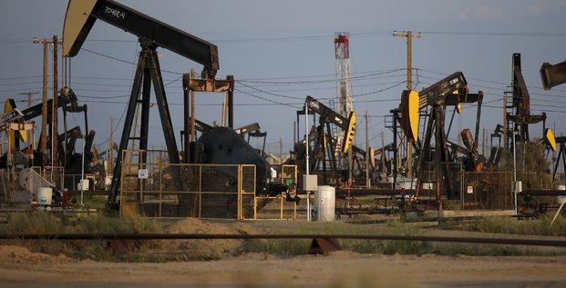 champ de pétrole, Californie, Etats-Unis,