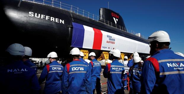 Suffren, sous-marin, Naval Group