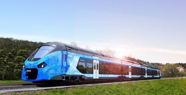 Parmi les axes de ce plan figure l'acquisition de 3 rames de train à hydrogène