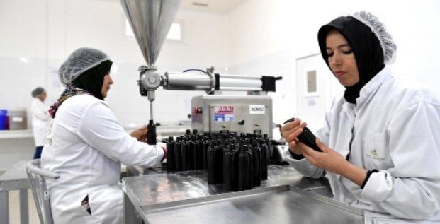 startup cosmetique atelier maroc