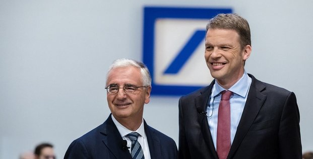 Deutsche Bank AG Christian Sewing  Paul Achleitner