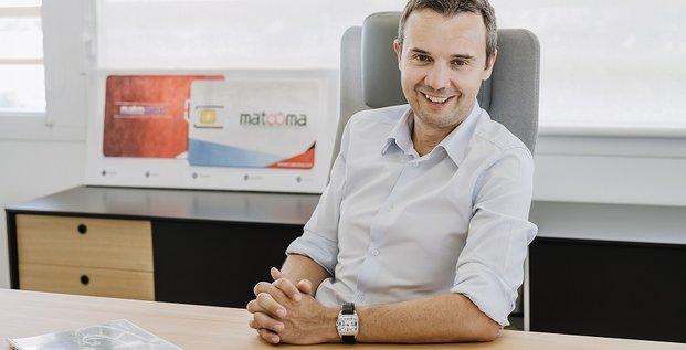 Matooma a été cofondée par Frédéric Salles