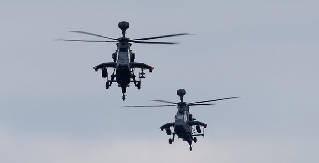 L'allemagne immobilise ses helicopteres tigre apres une alerte