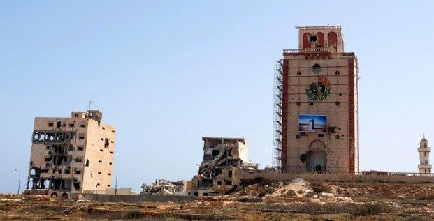 Libye Benghazi ruines