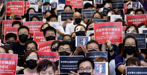 Hong Kong, violences policières, hopital, médecins,