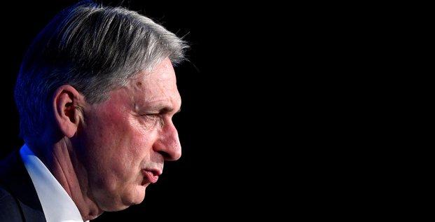 Philip Hammond, ministre britannique des Finances,