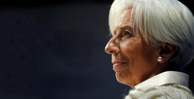 Christine Lagarde, FMI, Davos,