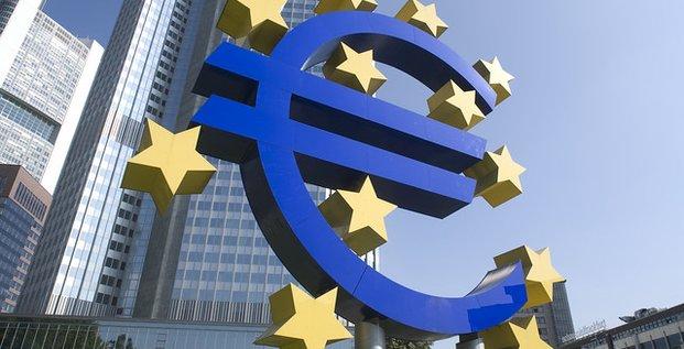BCE tour Francfort logo euro