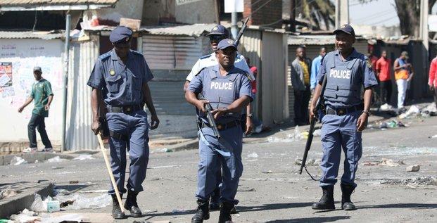afrique du sud police