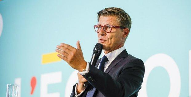 Nicolas Florian, maire de Bordeaux