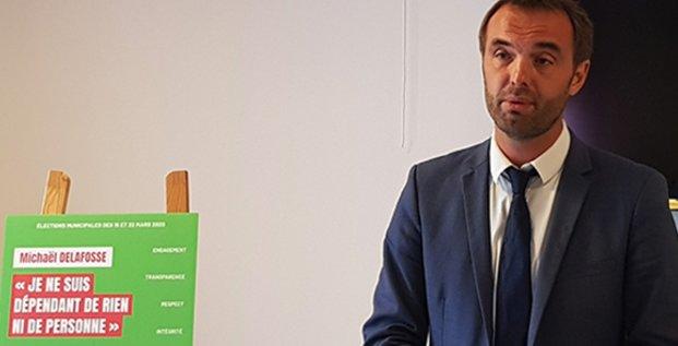 Michael Delafosse, candidat socialiste aux Municipales 2020 de Montpellier