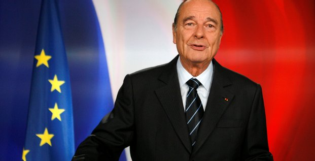 L'ancien president jacques chirac est mort