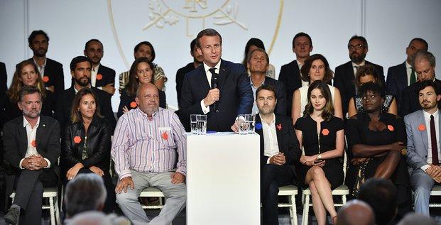 French Tech, Macron, Elysée, 2019091,