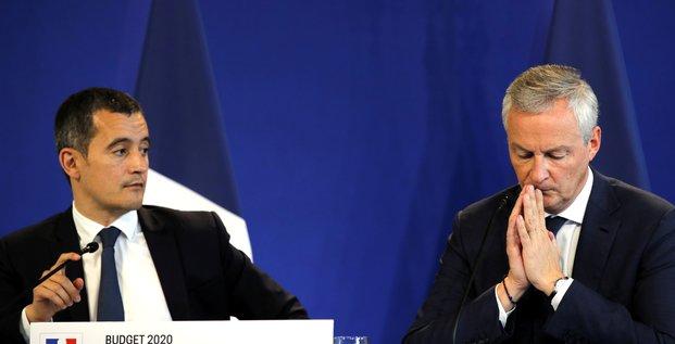 Darmanin, Le Maire, budget, impôts, économie,