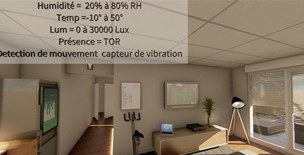 Le projet montpelliérain HUT, un appartement-observatoire bardé d'objets connectés et de capteurs