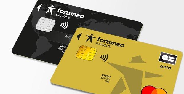 Fortuneo carte mastercard