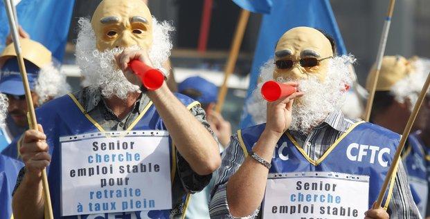 CFDT, manifestation, emploi des seniors, retraite, travail, vieillesse, discrimination, ostracisme, jeunisme,
