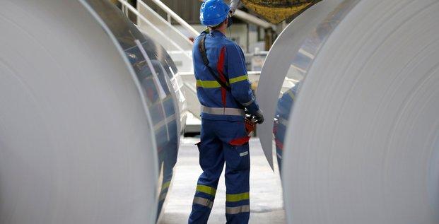 France: la production industrielle en baisse de 0,9% en aout