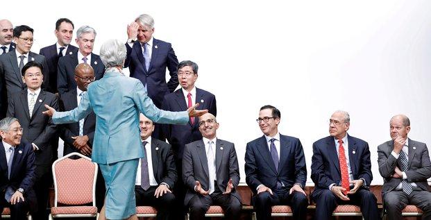 Réunion des ministres des Finances et gouverneurs de banques centrales du G20 à Fukuoka