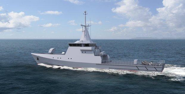 OPV 50 Kership Chypre naval group Piriou