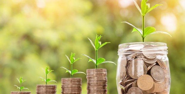 Illustration investissement vert