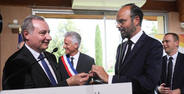 Édouard Philippe Jean Luc Moudenc