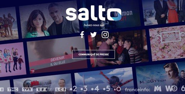 Salto, streaming, télévision, VOD