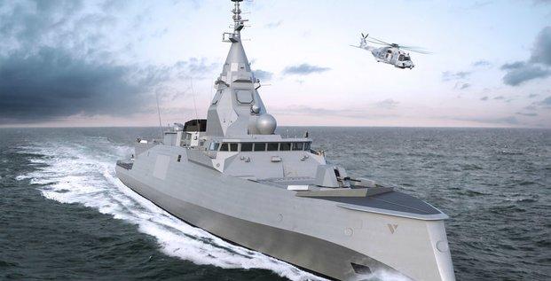 frégate de défense et d'intervention FDI Naval Group Marine nationale Grèce