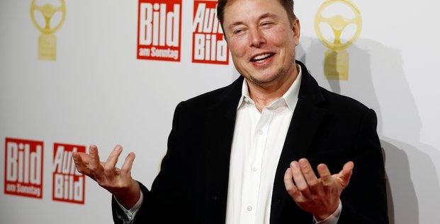 Elon Musk, Bild, automobile, 100% électrique, Tesla, Gigafactory, Berlin,