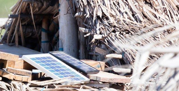 solaire plaques village