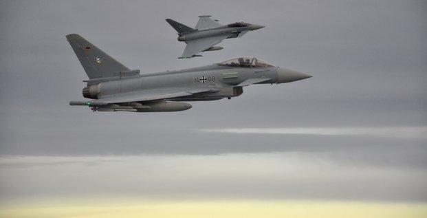 Deux eurofighter se sont ecrases dans le nord-est de l'allemagne