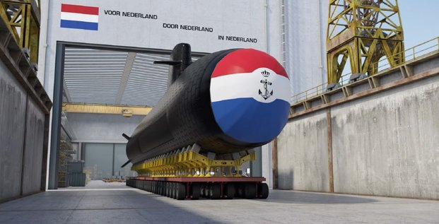 Pays-Bas sous-marins Naval Group Barracuda